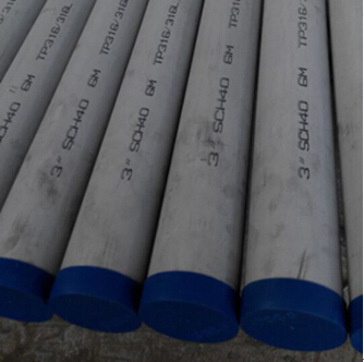 Stainless Steel Pipe, ASTM A312 TP316, 3 Inch