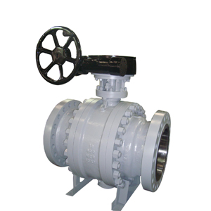 3 Pieces Trunnion Mounted Ball Valve, API 6D, Fire Safe