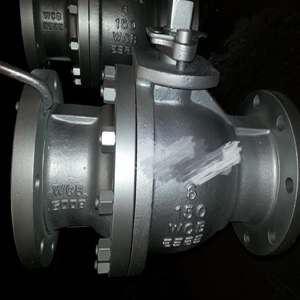 Carbon Steel Ball Valve, ASTM A216 WCB, 8IN, 150#