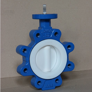 DI Lug Butterfly Valve, DN100, 150 LB, PTFE Seat