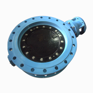 Double Eccentric Type Butterfly Valve, Free Shaft, PN16