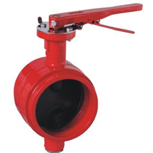 Grooved Ends Butterfly Valve, Ductile Iron, SS416 Stem