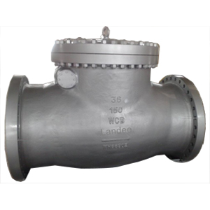 ASTM A216 WCB Check Valve, Flanged RF, 150#, 36 Inches