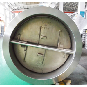 Dual Plate Check Valve, ASTM A890 4A, CL150, 30IN