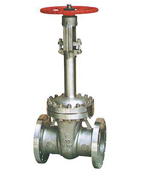 Flanged Cryogenic Gate Valve, Flexible Wedge, Full Bore
