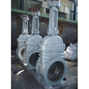 Through Conduit Gate Valve, 150 LB, RF, 24 Inch, API 6D