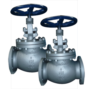 Raised Face Globe Valve, BS 1873, 6 Inch, 150 LB