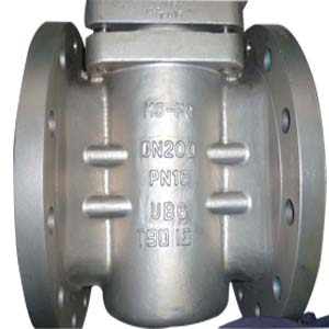 UB6 Plug Valve, DN200, Reduced Bore, PN16, API 6D