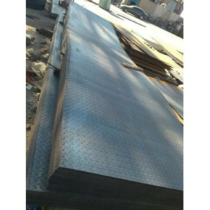 S235JR Checked Plate, 5 X 1500 X 6000mm, 5/7 DIN 59220-T-5