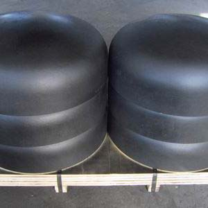 Carbon Steel Pipe Cap, ANSI B16.9, 26 Inch, Beveled Ends