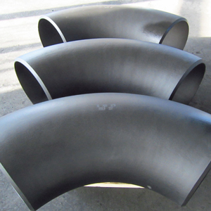 Seamless 90D Elbow, ASTM A234 WPB, SCH 60, Beveled Ends
