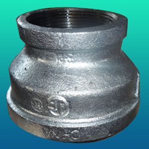 Galvanized  Concentric Reducer, PN 20, ASTM A197, NPT Ends