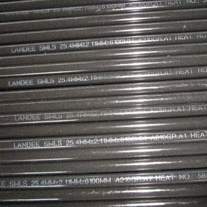 ASTM A210 Gr.A1 Seamless Pipe, ASME B36.10, 25.4mm, PE