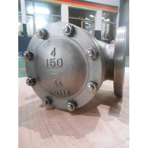 205 Duplex Stainless Steel Check Valve BS 1868 4 Inch