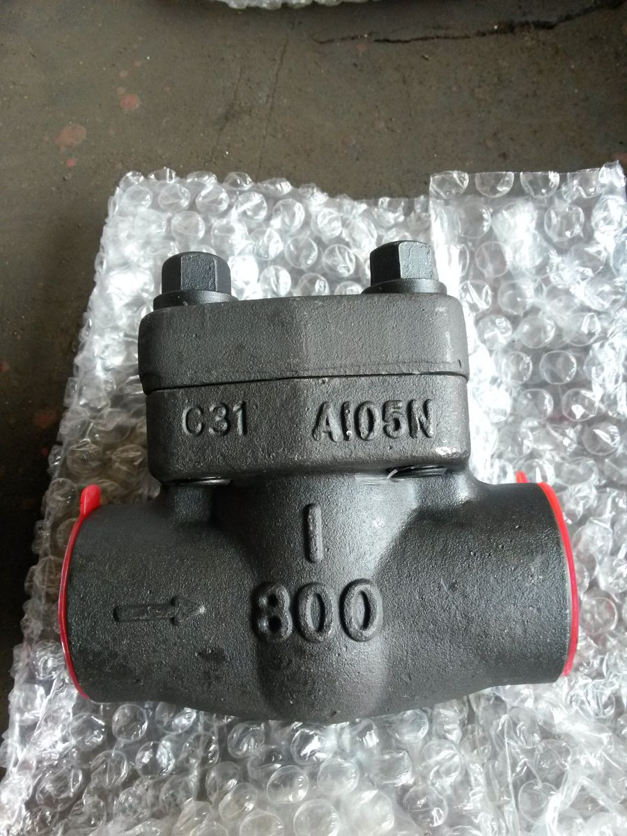 API 602 Check Valves A105 13%Cr 1 Inch