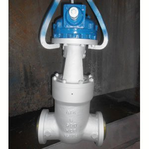 ASTM A216 WCB Gate Valve, 900#, 6 Inch, RF Ends