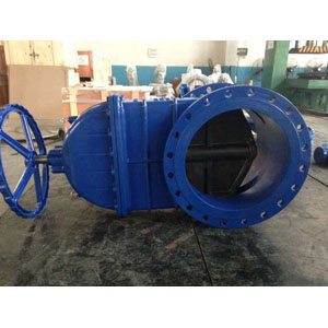 Flanged Resilient Seal Gate Valve, DN600 PN16 DI