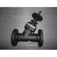 ASTM A105 Y Type Globe Valve, 2 Inch, 300 LB, RF Ends